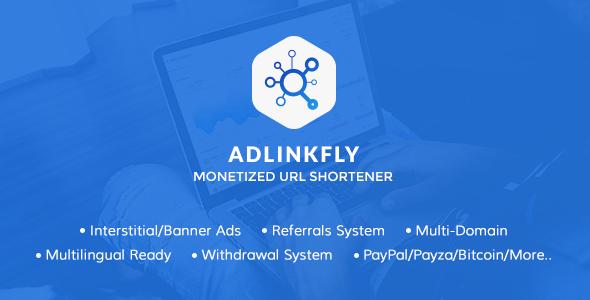 【国外源码】AdLinkFly v6.4.0短域名生成赚钱程序_网址缩短