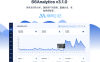 66Analytics扩展版v3.1.0美观大气的网站统计,访客分析和会话跟踪