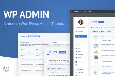 WordPress插件Wphave Admin一款漂亮的后台管理主题v1.9汉化版