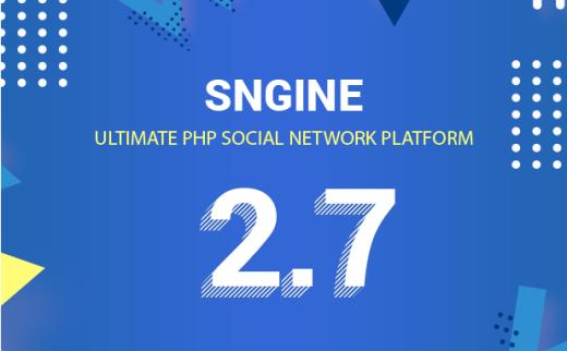 Sngine v2.7.2-社交PHP微博平台源码免授权带APP源码
